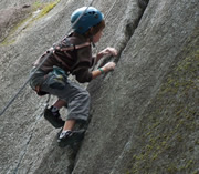 boy climbing Yes I Can!!... Turning Point from Good to Great